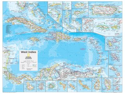 2014 West Indies - National Geographic Atlas of the World, 10th Edition