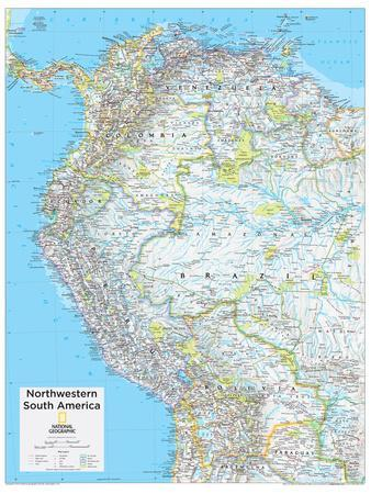 2014 Northwestern South America - National Geographic Atlas of the World, 10th Edition
