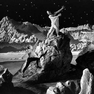 Unidentified Dancers on Set of Film 'Destination Moon', 1950