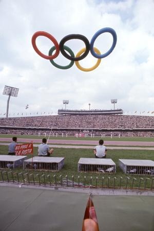 October 12 1968: 19th Olympic Games Opening Ceremony, Mexico