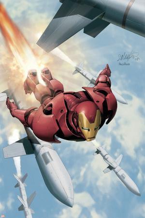 Invincible Iron Man No.3 Cover: Iron Man