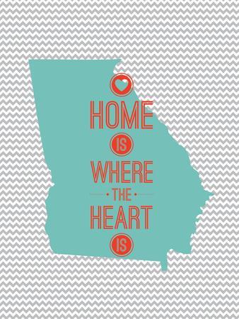 Home Is Where The Heart Is - Georgia