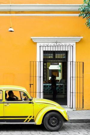 ¡Viva Mexico! Collection - Volkswagen Beetle Car - Gold & Yellow