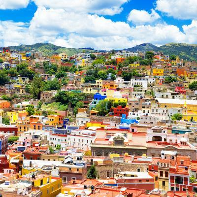 ¡Viva Mexico! Square Collection - Guanajuato Cityscape XV