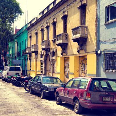 ¡Viva Mexico! Square Collection - Mexico City Architecture