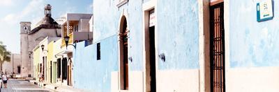 ¡Viva Mexico! Panoramic Collection - Urban Scene Campeche IV