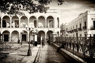 ¡Viva Mexico! B&W Collection - Campeche Architecture II