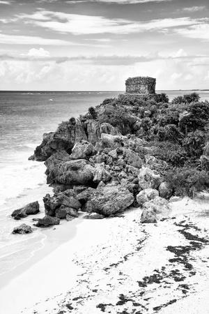 ¡Viva Mexico! B&W Collection - Tulum Riviera Maya VIII