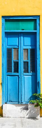 ¡Viva Mexico! Collection - Blue Window and Yellow Wall