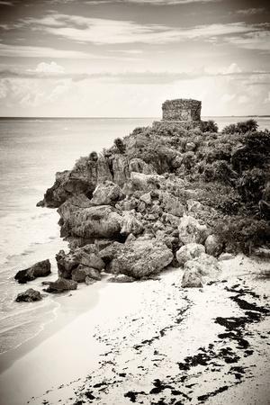¡Viva Mexico! B&W Collection - Tulum Riviera Maya VII