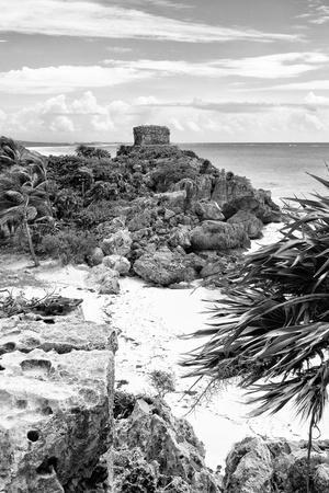 ¡Viva Mexico! B&W Collection - Tulum Riviera Maya IV