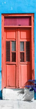 ¡Viva Mexico! Collection - Red Window and Blue Wall
