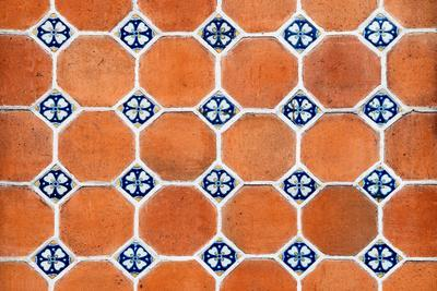¡Viva Mexico! Collection - Mosaics Orange Bricks