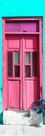 ¡Viva Mexico! Collection - Pink Window and Turquoise Wall