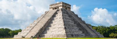 ¡Viva Mexico! Panoramic Collection - El Castillo Pyramid in Chichen Itza IV