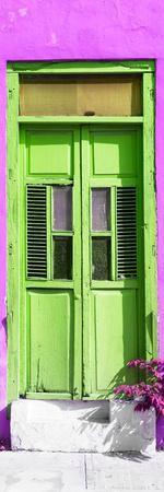 ¡Viva Mexico! Collection - Lime Window and Purple Wall