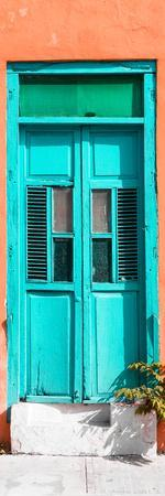 ¡Viva Mexico! Collection - Turquoise Window and Coral Wall