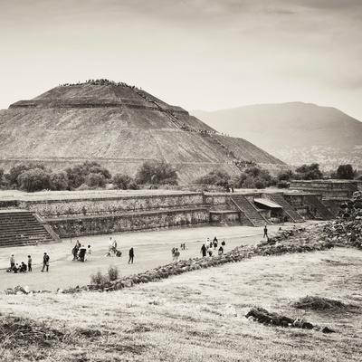 ¡Viva Mexico! Square Collection - Teotihuacan Pyramids