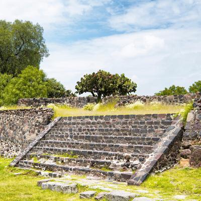 ¡Viva Mexico! Square Collection - Staircase Pyramid