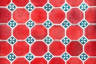 ¡Viva Mexico! Collection - Mosaics Red Bricks