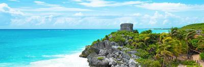 ¡Viva Mexico! Panoramic Collection - Caribbean Coastline in Tulum IX