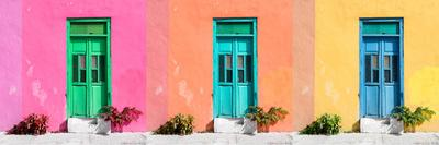 ¡Viva Mexico! Panoramic Collection - Tree Colorful Doors VI