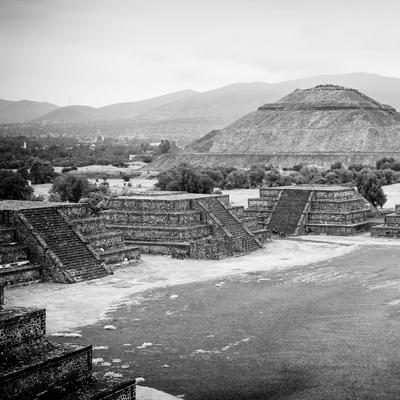 ¡Viva Mexico! Square Collection - Teotihuacan Pyramids V