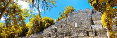 ¡Viva Mexico! Panoramic Collection - Pyramyd of the ancient Mayan City III - Calakmul