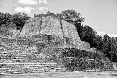 ¡Viva Mexico! B&W Collection - Maya Archaeological Site III - Edzna