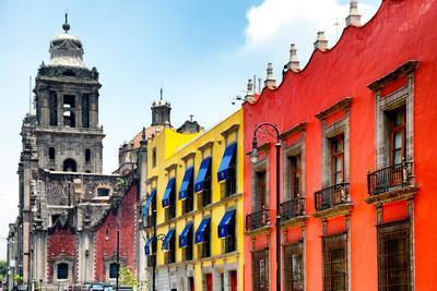¡Viva Mexico! Collection - Mexico City Colorful Facades II