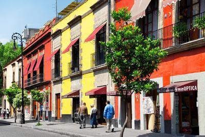 ¡Viva Mexico! Collection - Mexico City Colorful Facades