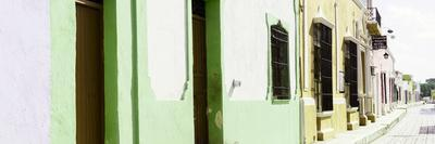 ¡Viva Mexico! Panoramic Collection - Campeche Colorful Street I
