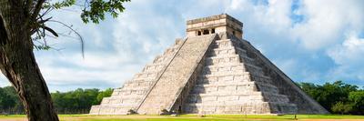 ¡Viva Mexico! Panoramic Collection - El Castillo Pyramid - Chichen Itza X