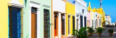 ¡Viva Mexico! Panoramic Collection - Campeche Colorful Street IV