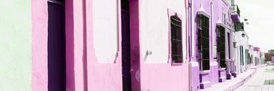 ¡Viva Mexico! Panoramic Collection - Campeche Colorful Street II