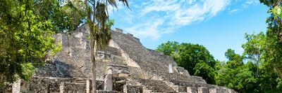 ¡Viva Mexico! Panoramic Collection - Pyramyd of the ancient Mayan City IV - Calakmul