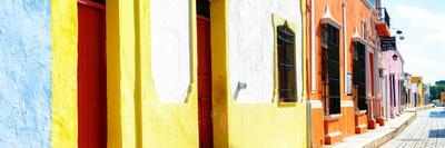 ¡Viva Mexico! Panoramic Collection - Campeche Colorful Street