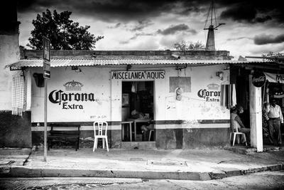¡Viva Mexico! B&W Collection - Mexican Supermarket