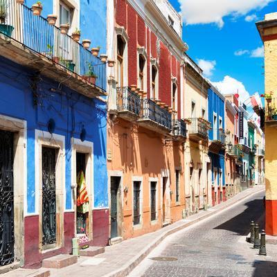 ¡Viva Mexico! Square Collection - Street Scene Guanajuato II