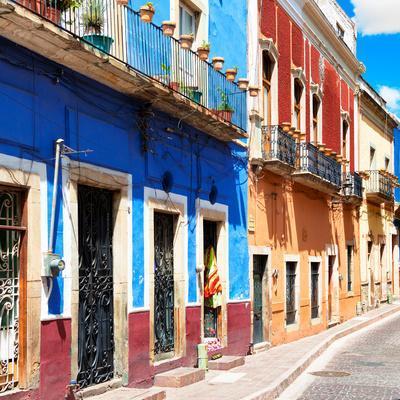 ¡Viva Mexico! Square Collection - Street Scene Guanajuato