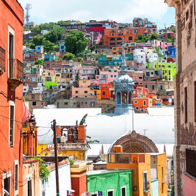 ¡Viva Mexico! Square Collection - Guanajuato Colorful City III