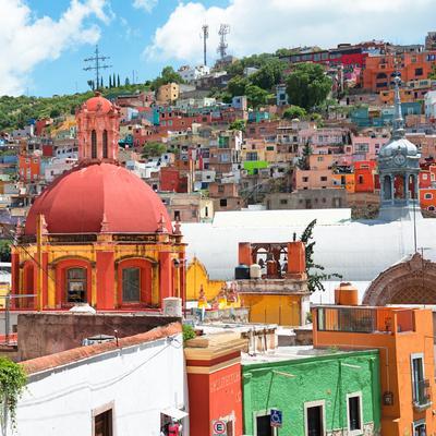 ¡Viva Mexico! Square Collection - Guanajuato Colorful City V
