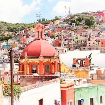 ¡Viva Mexico! Square Collection - Guanajuato Colorful City VII