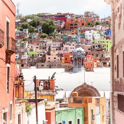 ¡Viva Mexico! Square Collection - Guanajuato Colorful City IV