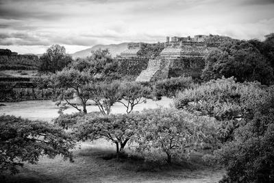 ¡Viva Mexico! B&W Collection - Monte Alban Pyramids II
