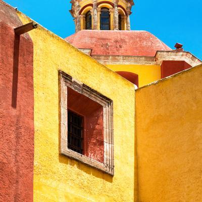 ¡Viva Mexico! Square Collection - Guanajuato Yellow Facades