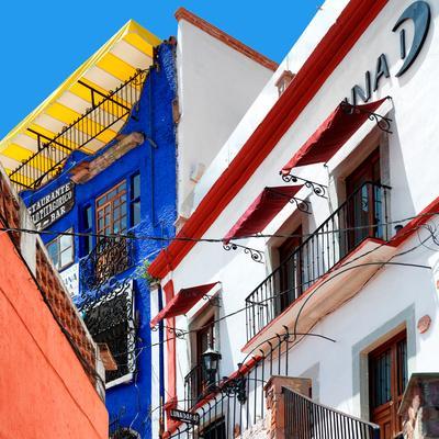 ¡Viva Mexico! Square Collection - Guanajuato Facades II