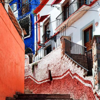 ¡Viva Mexico! Square Collection - Guanajuato Facades III