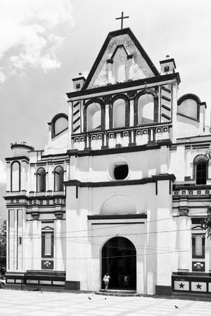 ¡Viva Mexico! B&W Collection - Mexican White Church II