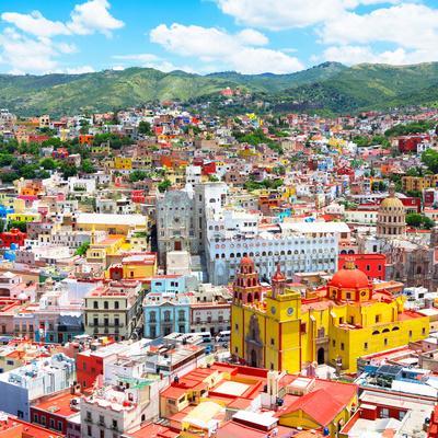 ¡Viva Mexico! Square Collection - Guanajuato Cityscape